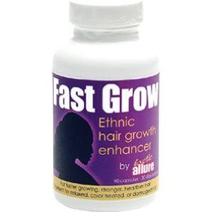 Fast Grow vitamins for Ethnic or Black hair growth