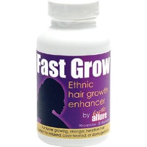 how to grow black hair back fast
