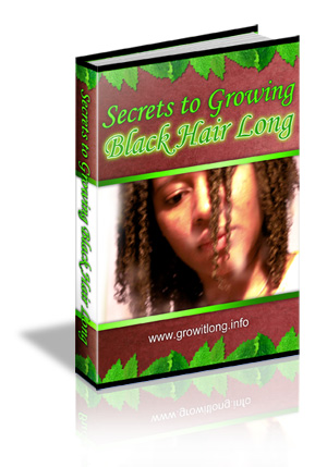 The Secrets To Growing Black Hair Long