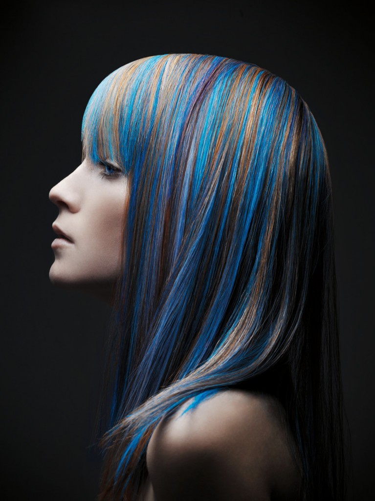 New Hair Highlight And Color Ideas 2012