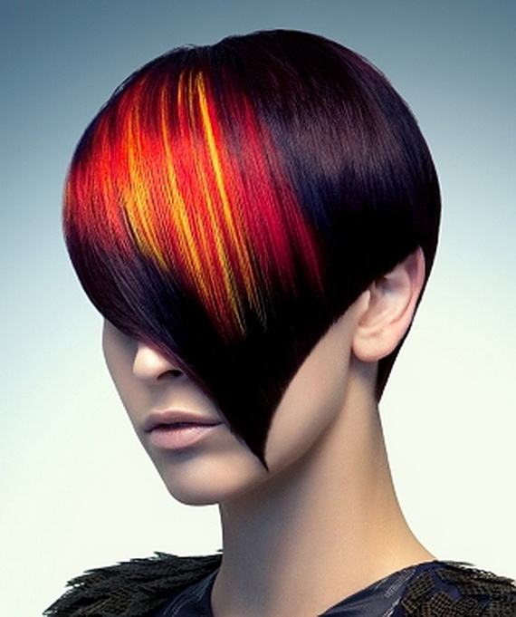 highlights dark brown base with radiant highlights mix between red ...