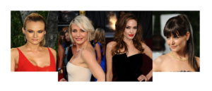 Celebrities Hairstyle In Oscar Party 2012