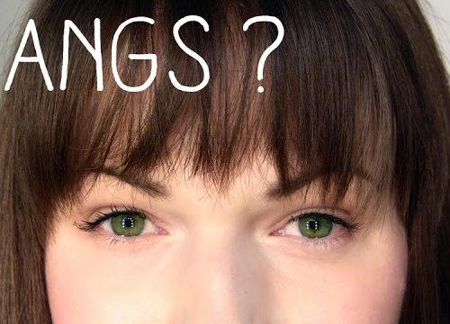 How to cut bangs - fringe at home bangs