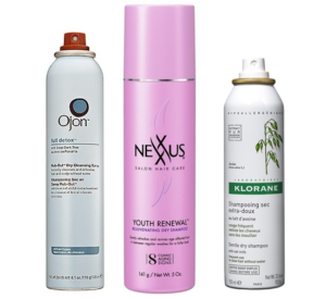 Ten Best Dry Shampoos