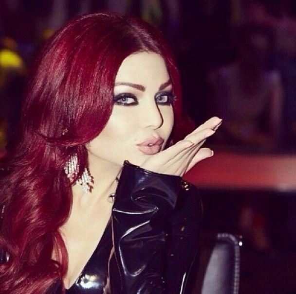 Haifa Wehbe Hairstyles Colors