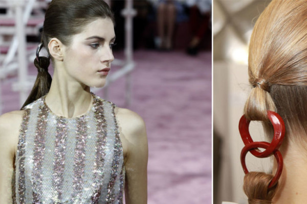 Dior Ponytail Trend