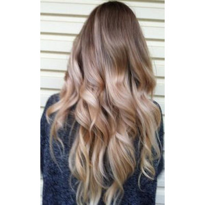 balayage ombré hair extensions