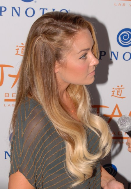 Blonde ombre hair lauren conrad
