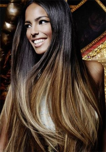 Hair Extensions Dip Dye Rachael Edwards