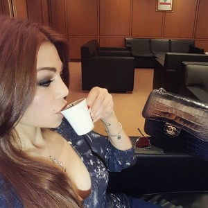 Haifa Wehbe Hair Colors