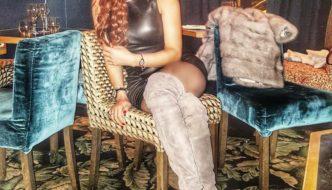 Haifa Wehbe New Hair Color