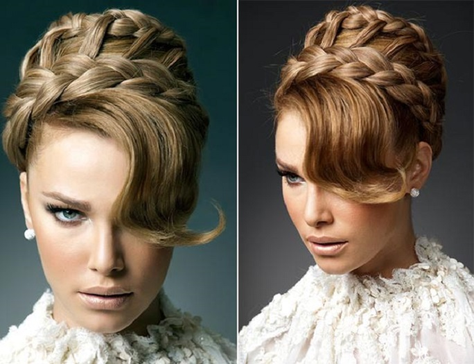 Hairstyles Halo : halo braided hairstyles elegant halo braided bridal hairstyles